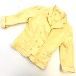 Citizens of Humanity Yellow Jacket Size L